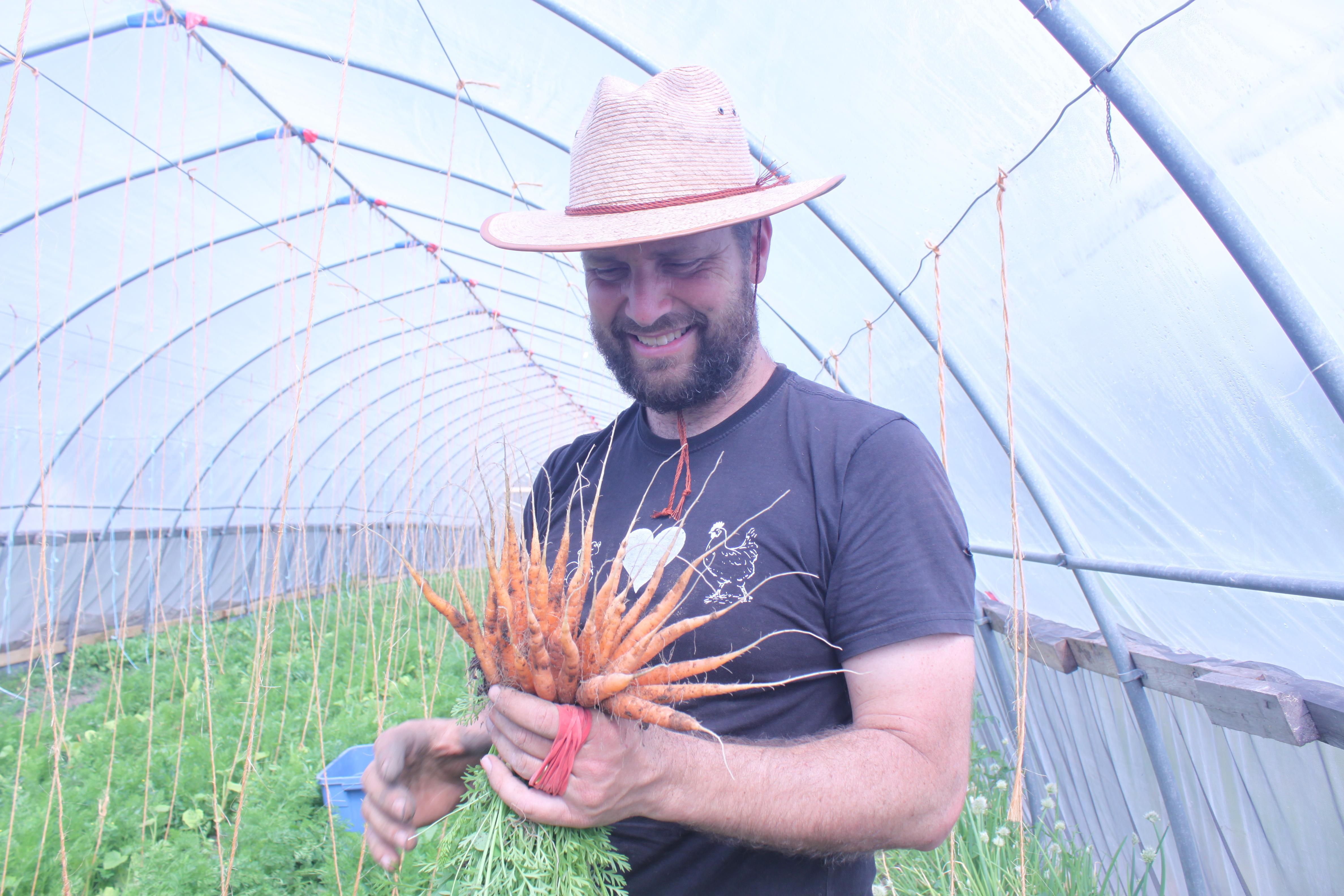 Common Ground Farm Owner Chris Devries