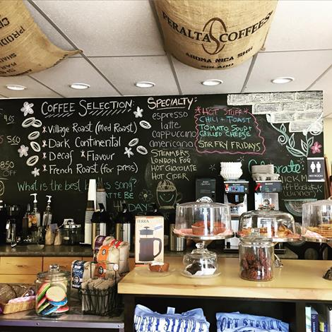 Village Square Coffee House Interior