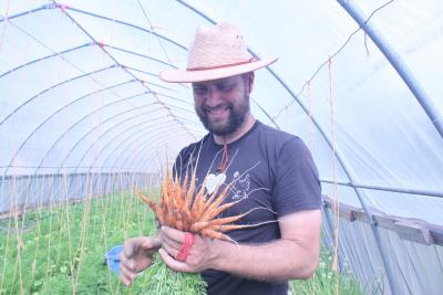 Common Ground Farm Owner Chris Devries