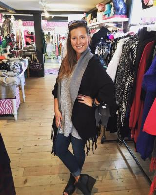 Tiffany Richter at the Chique Shack Boutique