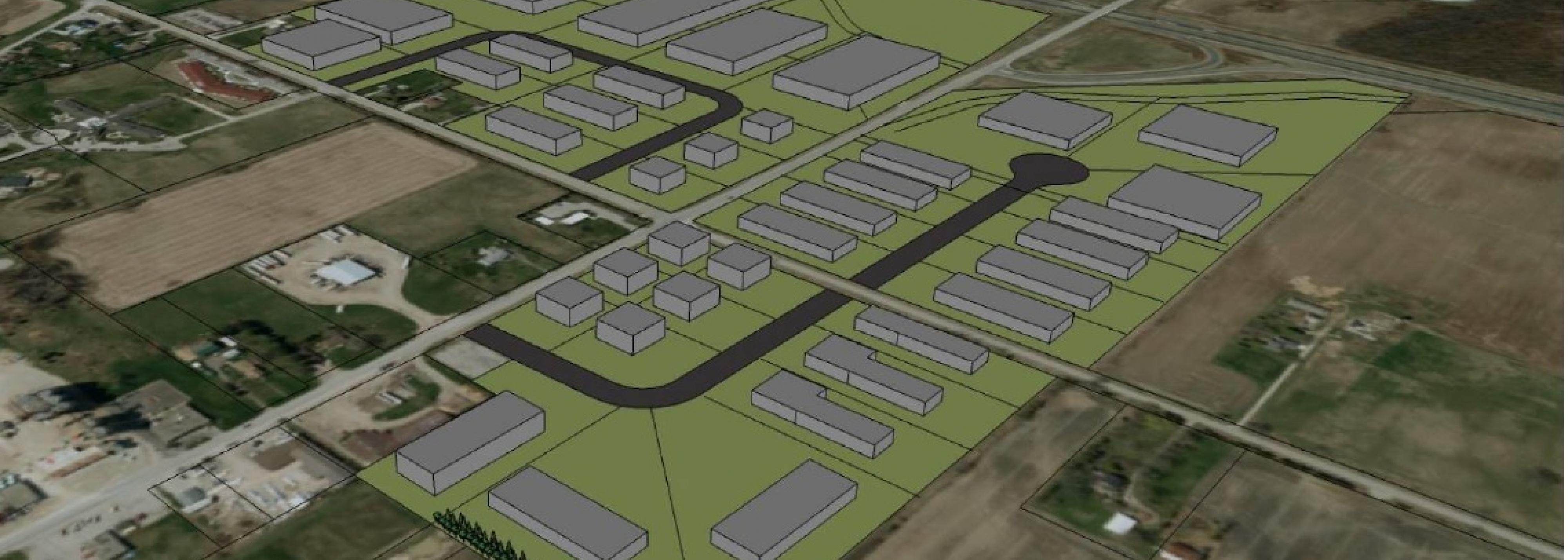 Conceptual Business Park